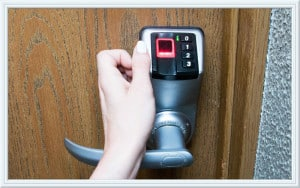 biometric door lock San Antonio